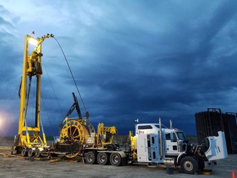 Mast Coiled Tubing Unit Titanium Energy Services